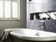 Badrumsinspiration - Hyllnisch i badrum