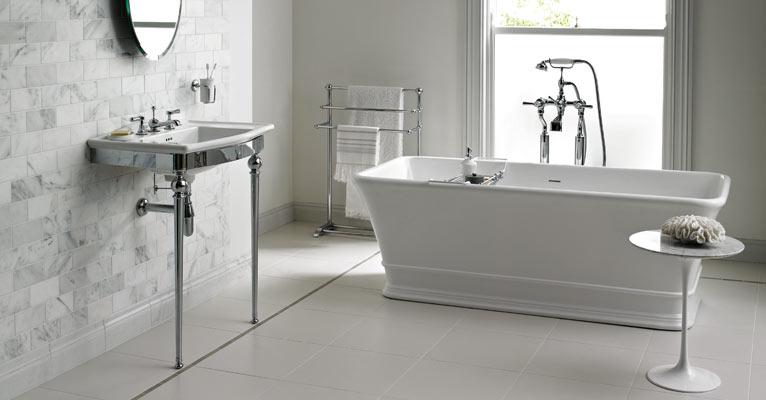 Badrum badrum klassiskt : Marmor på klassiskt sätt i halvförband | Badrumsdrömmar