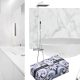 Badrumsinspiration - Skapa stilen med vit marmor