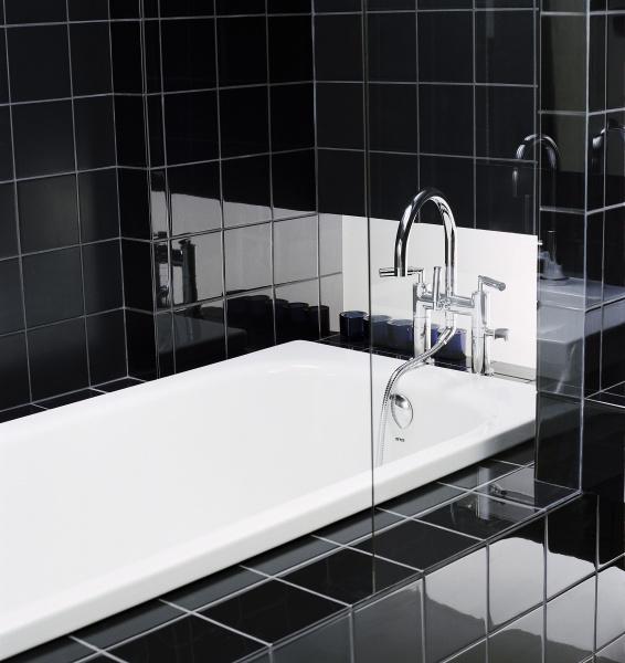 Svart badrum som natten | Badrumsdrömmar