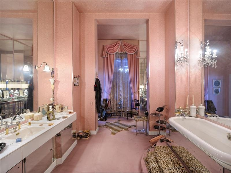 Coco Chanels badrum på franska Rivieran