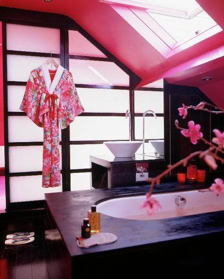 Inspireras av geishas badrum | Badrumsdrömmar