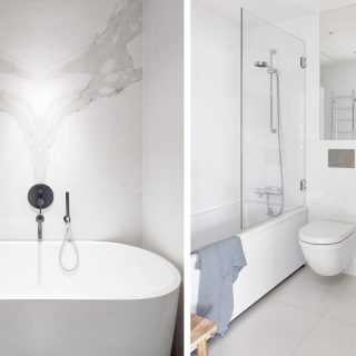 badrum inspiration stora plattor i litet badrum tips att tänka på  badrumsdrömmar 6b05c686ebaed