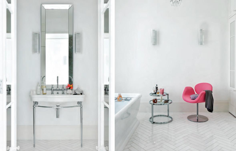 Badrum inspiration moderna badrum styling med små medel vita ...
