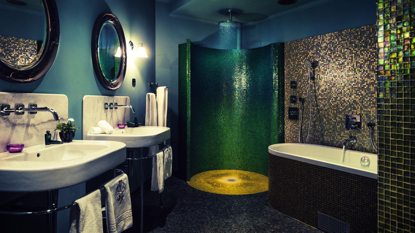 Magnifika hotell dorsia i g teborg badrumsdr mmar - Interior design styles bathroom ...