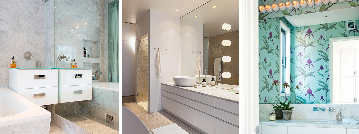 Limma spegel på vägg | Kakel till kök och badrum