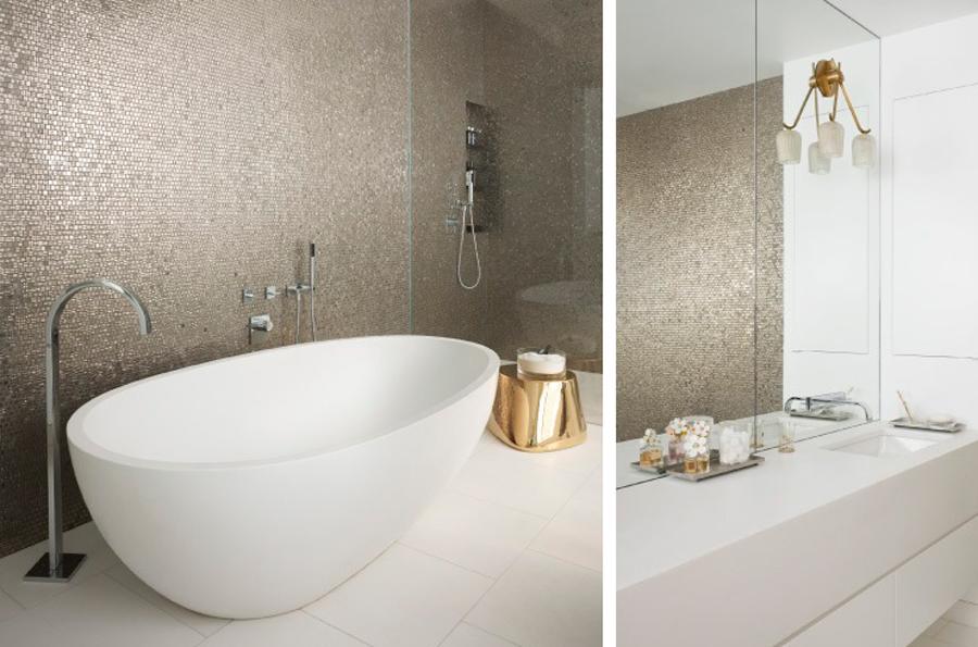 Mosaik badrum inspiration