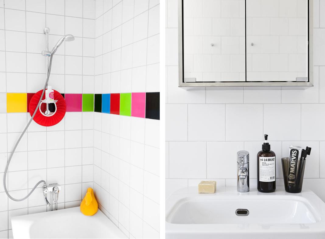 Badrum färg i badrum inspiration små badrum styling med små medel ...