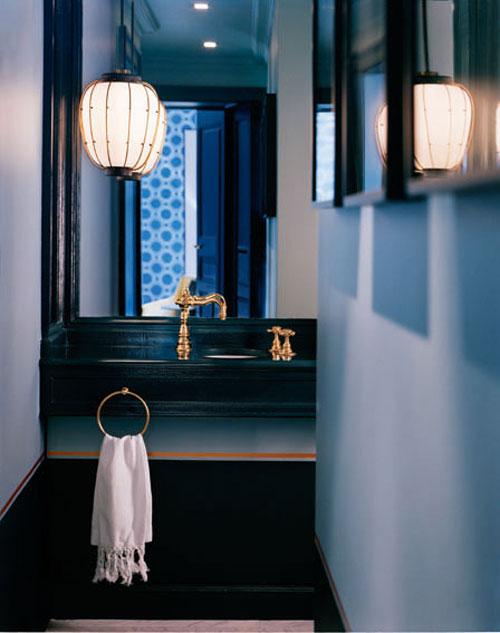 Vardagslyx i badrummet i Paris