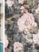Badrumsinspiration - Våtrumstapet från italienska Wall & Deco är vad vi vill ha i badrummet!