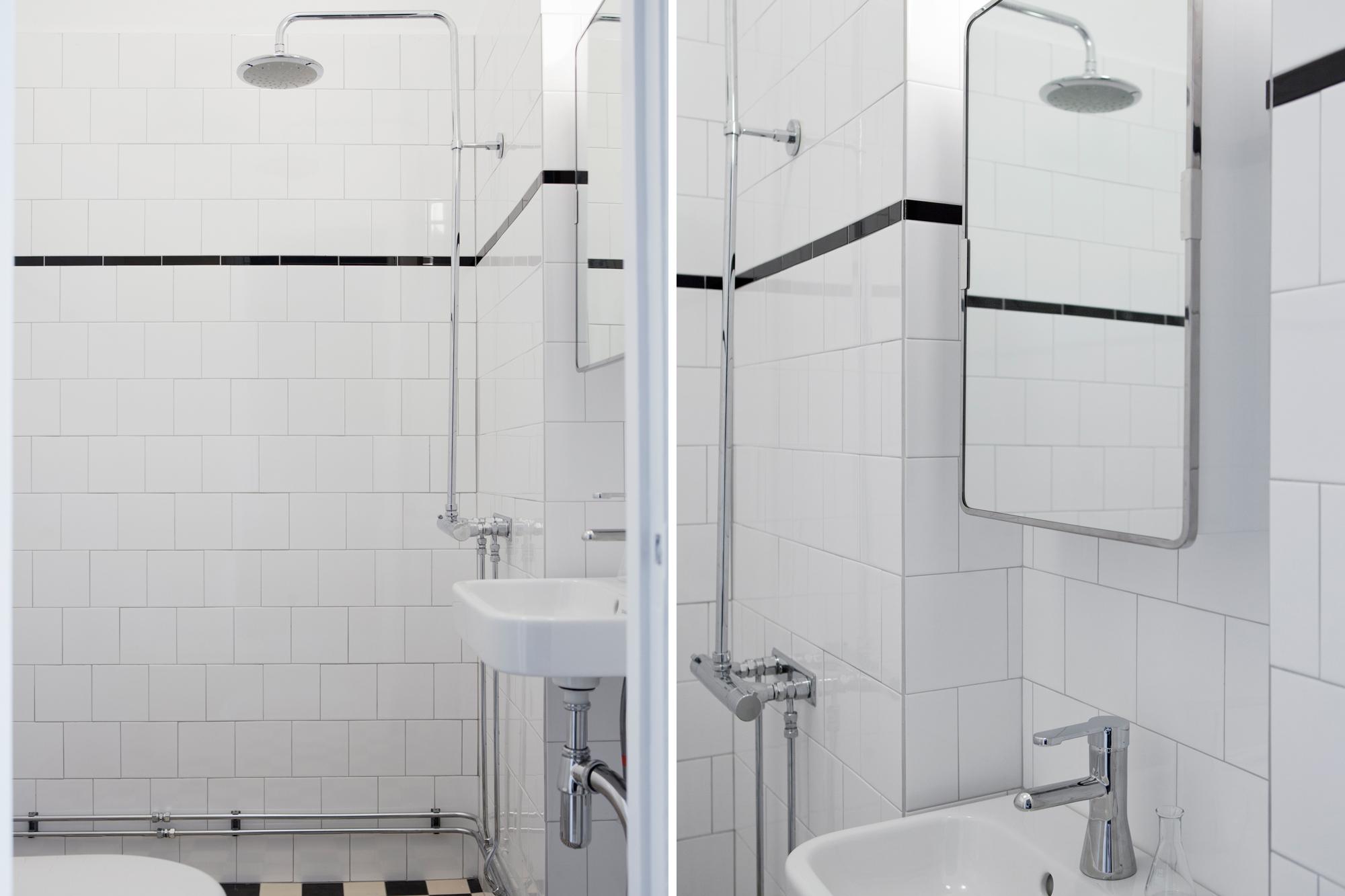 Snyggt badrum med våtrumsmatta ~ xellen.com
