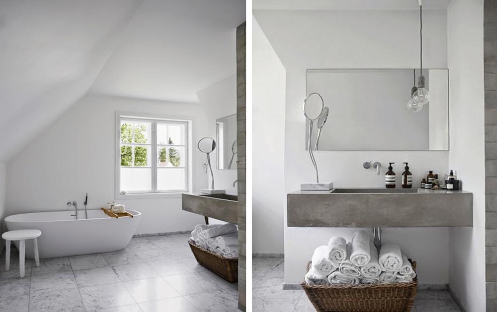 Badrumsinspiration - badrum inspiration grått betong marmor vosgesparis  boligliv badrumsdrommar 57fb0eb92f864