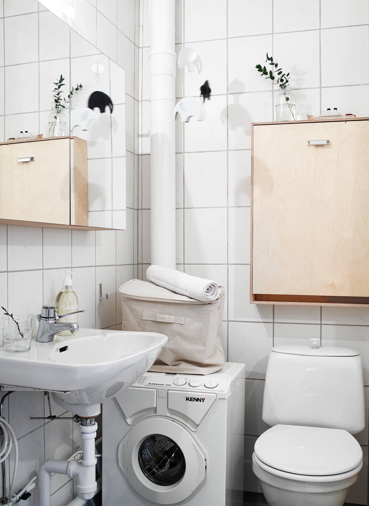 Släpp pressen i badrum!