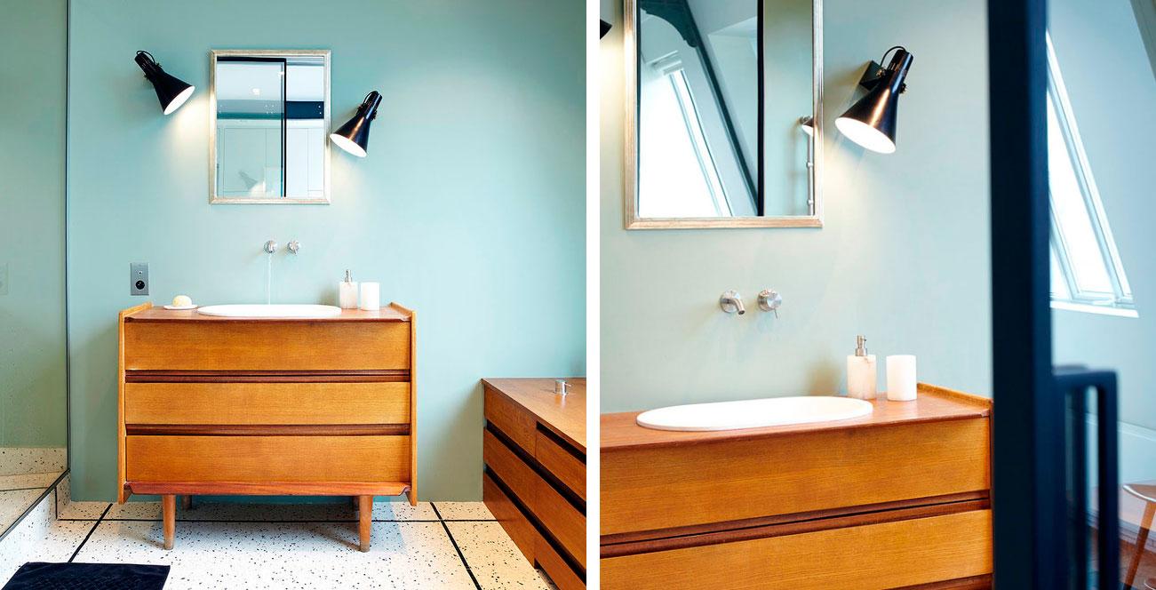 Badrum nytt badrum : Ett modernt 1950-tals badrum | Badrumsdrömmar