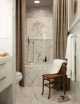 Badrumsinspiration - badrum inspiration bathroom klassiskt marmor badkar carrara new hamptons new england barrykingdesigns badrumsdrömmar 1