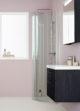 badrumsinspiration samarbete INR duschvaggar duschhorna linc modell monument horn stangd badrumsdrommar x