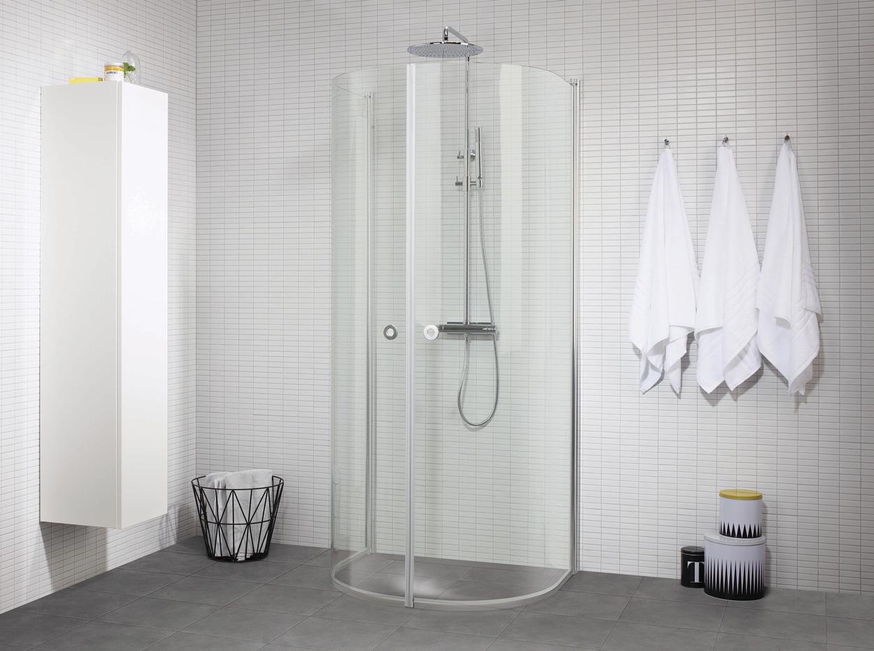 Vad är rätt duschväggar för ditt badrum? | Badrumsdrömmar : dusch skjutdörrar glas : Inredning