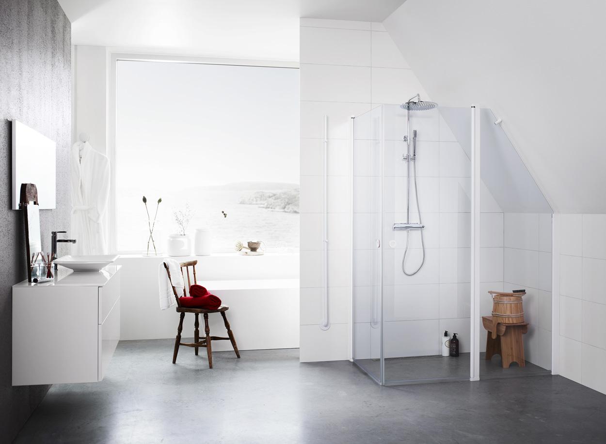 Vad är rätt duschväggar för ditt badrum? | Badrumsdrömmar
