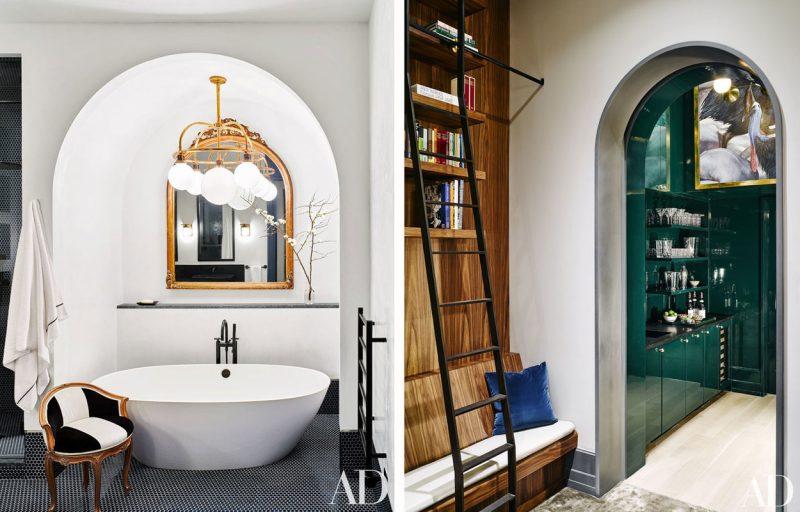 Badrumsinspiration - badrum inspiration art deco bathroom naomi watts liev  schreiber manhattan loft photo douglas friedman 2ebe9313e2ca8