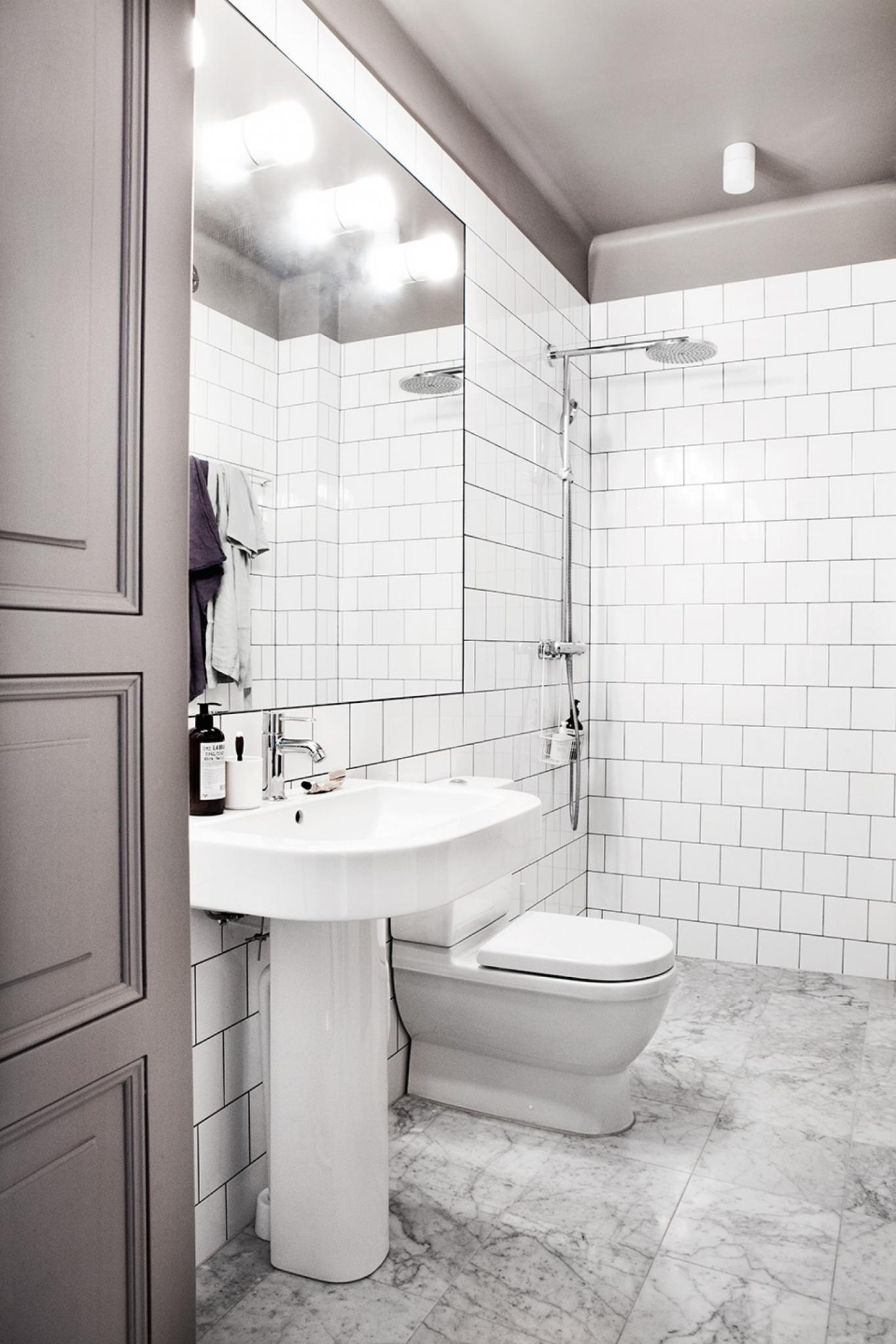 färg tak badrum