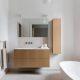 Badrumsinspiration - badrum inspiration carrara badrumsmöbel mässing blandare strandvägen per jansson 2