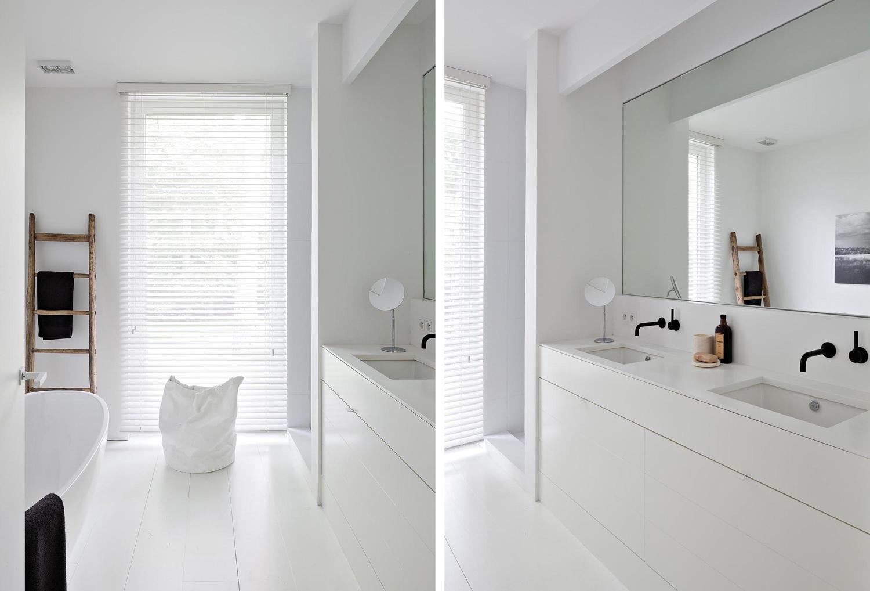 Badrumsinspiration  Vitt minimalistiskt badrum – Badrumsdrömmar e4636dac13d11