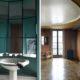 Badrumsinspiration - Turkost 1930-tals badrum hemma hos arkitekten Auguste Perret i Paris. Foto av Hotze Eisma.