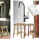 Badrumsinspiration - Skapa stilen - Kelim matta i mörkt badrum i Belgien