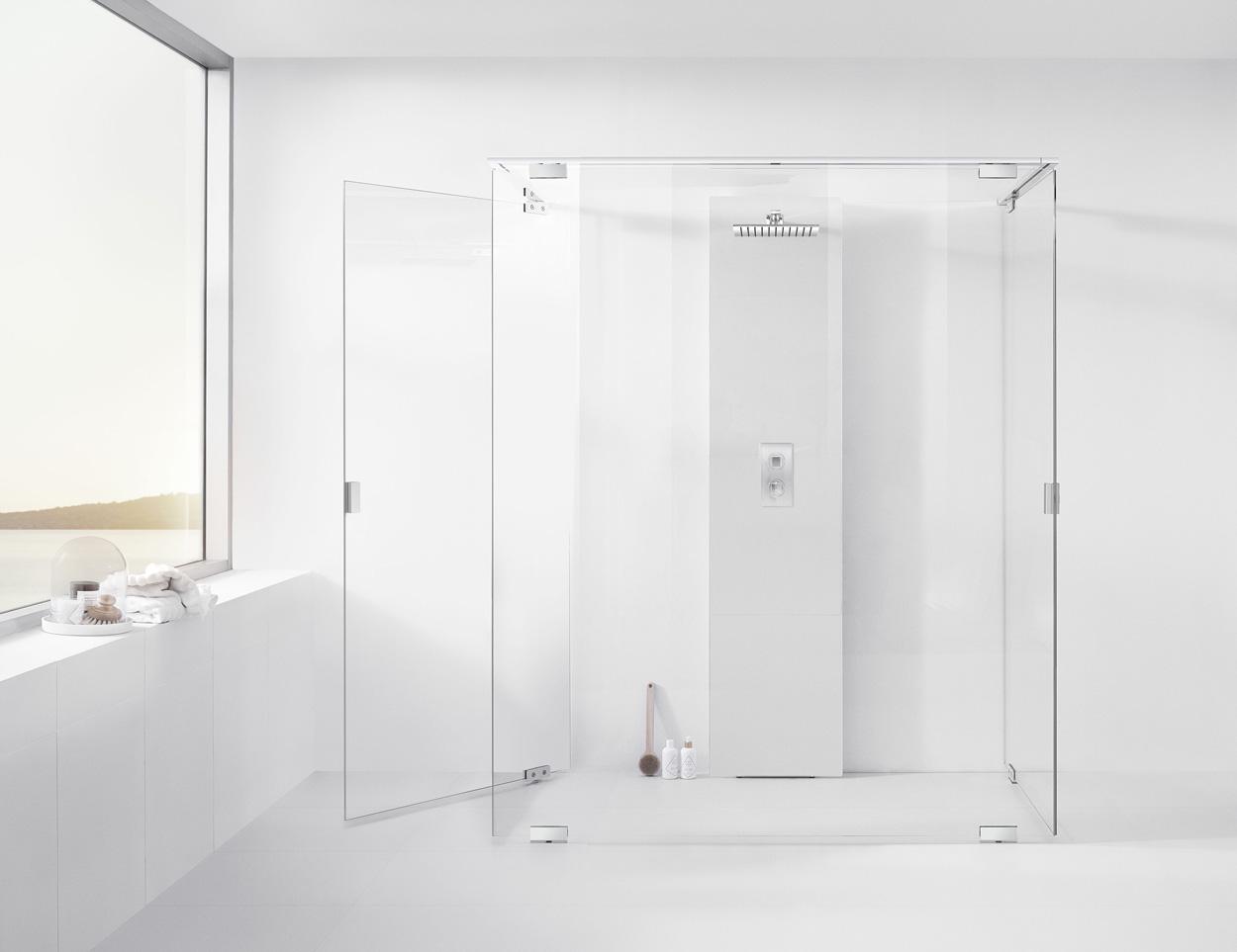 Berömda Badrumsinspiration: Vad är rätt duschväggar för ditt badrum? KO-36