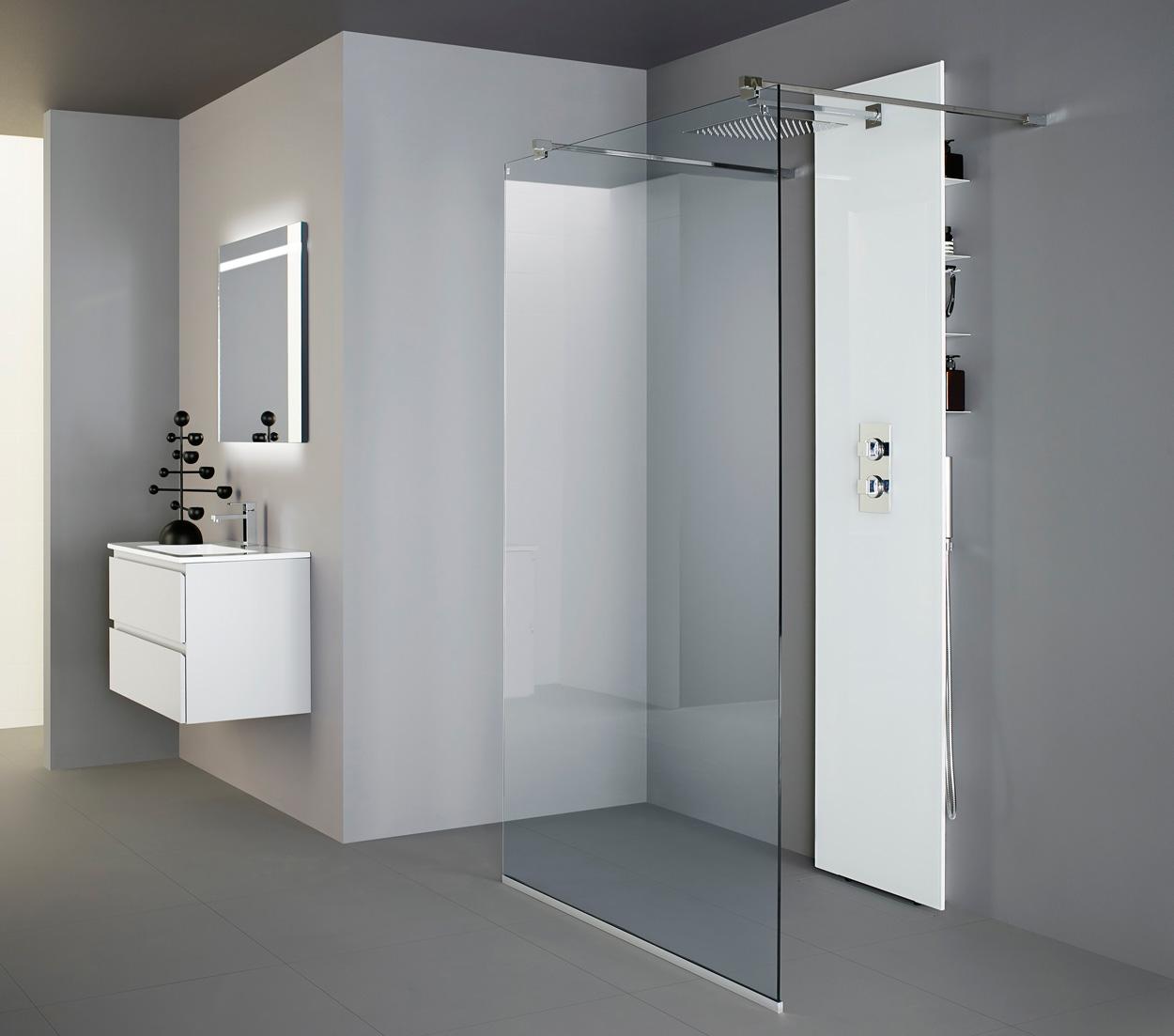 Splitter nya Badrumsinspiration: Vad är rätt duschväggar för ditt badrum? GI-13