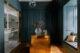 badrumsinspiration klassiskt badrum calacatta boudoir sminkbord fiskbensmonster marmor ostermalm villastaden kladkammare petroleum foto perjansson